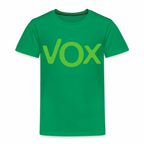 VOX - Camiseta premium niño