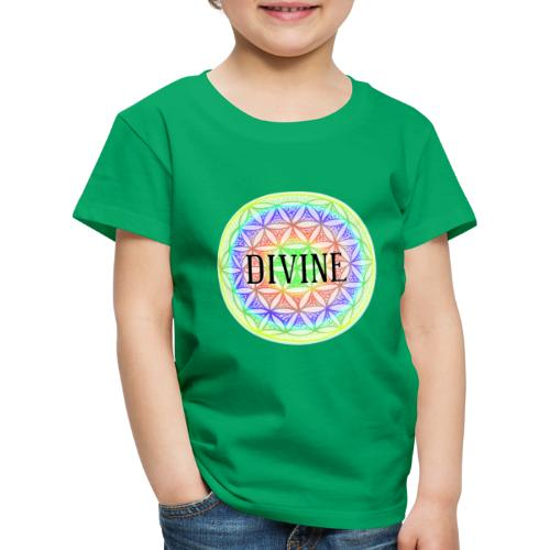 Mandala Blume des Lebens Divine, bunt - Kinder Premium T-Shirt