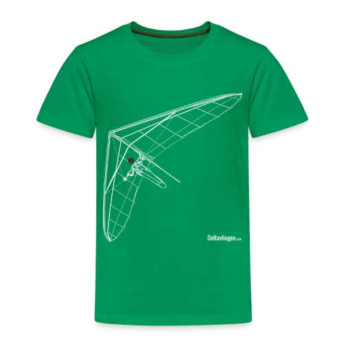 Deltavleugel Joost wit - Kinderen Premium T-shirt