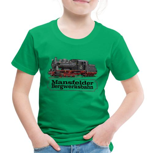 mansfelder bergwerksbahn dampflok 1 - Kinder Premium T-Shirt