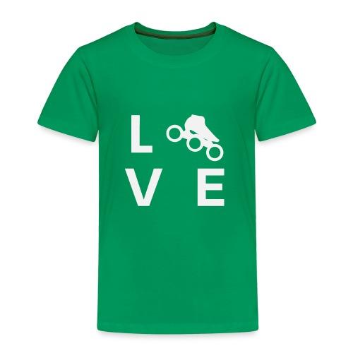 Speedskating Liebe - Kinder Premium T-Shirt