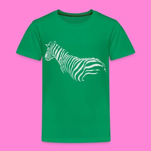 zebra1 - Kinderen Premium T-shirt