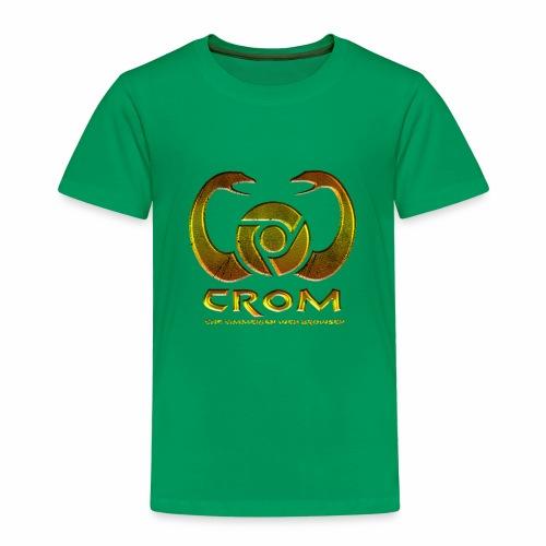 crom - Navegador web - Camiseta premium niño