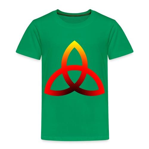Feuriges Triketra Zeichen - Kinder Premium T-Shirt