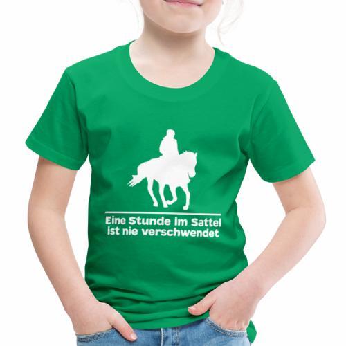 Reiten Pferde Pferdesprüche T-Shirt Pferdemädchen - Kinder Premium T-Shirt