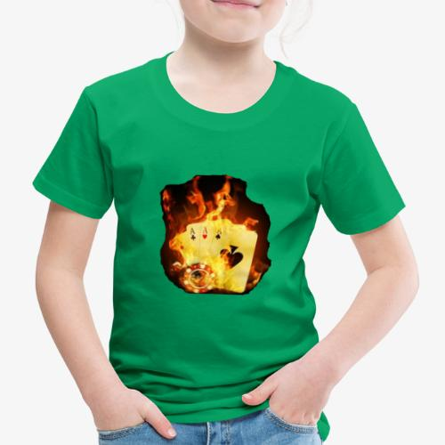 Flamme THE TEXAS HOLDEM - Kinder Premium T-Shirt