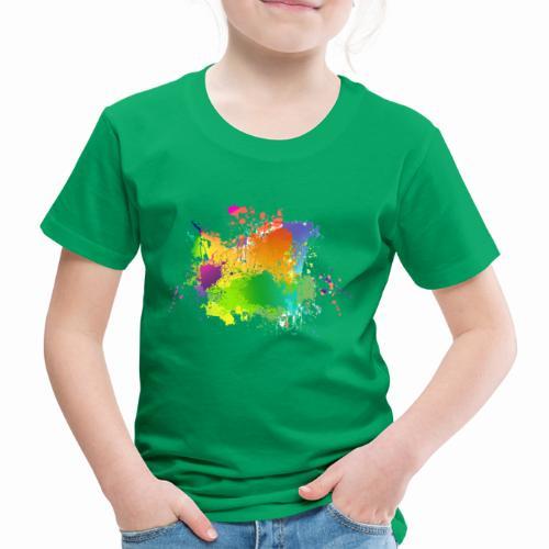 Farbkleckse - Kinder Premium T-Shirt