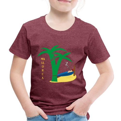 Mallorca - Urlaub unter Palmen - Kinder Premium T-Shirt