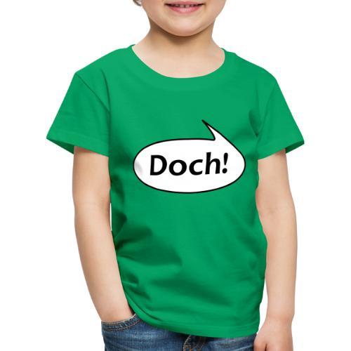 Sprechblase Doch! - Kinder Premium T-Shirt