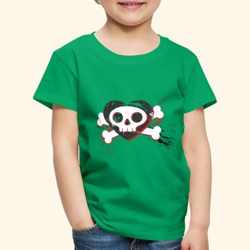 Crane coeur - T-shirt Premium Enfant