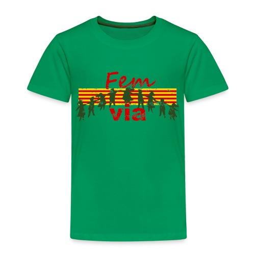 Fem via - Camiseta premium niño