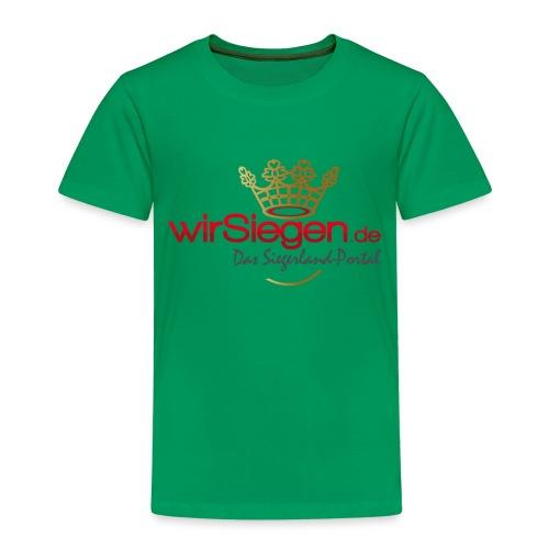 wirSiegen.de - Das Siegerland-Portal - Kinder Premium T-Shirt