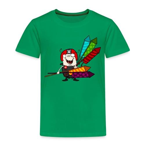 Kinder T-Shirt - Feuerwerk - Kinder Premium T-Shirt
