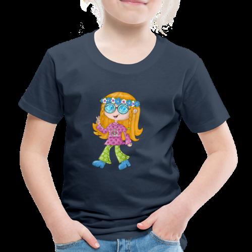 Hippie Girl - Kinder Premium T-Shirt