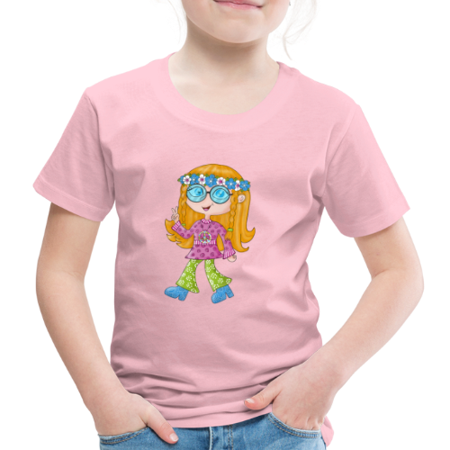 Hippie Girl - Kinder Premium T-Shirt