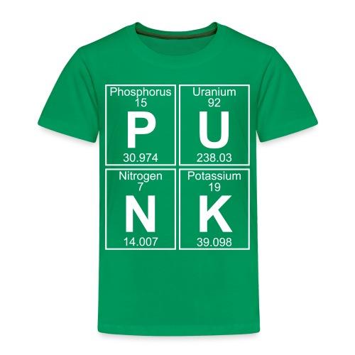 P-U-N-K (punk) - Full - Kids' Premium T-Shirt