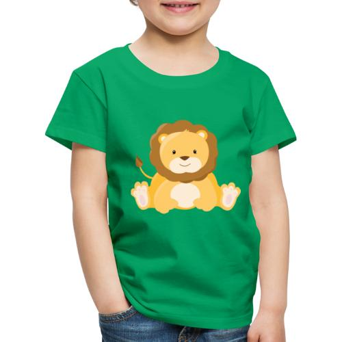 SAFARI Löwe - Kinder Premium T-Shirt