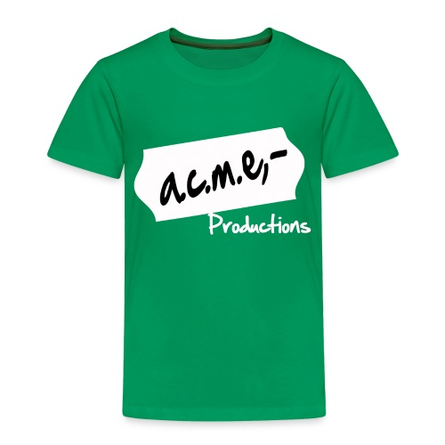 acmeproductionswhite - Kinder Premium T-Shirt