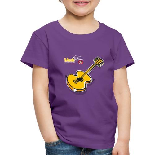 MusicForFun - dunkler Hintergrund - Kinder Premium T-Shirt