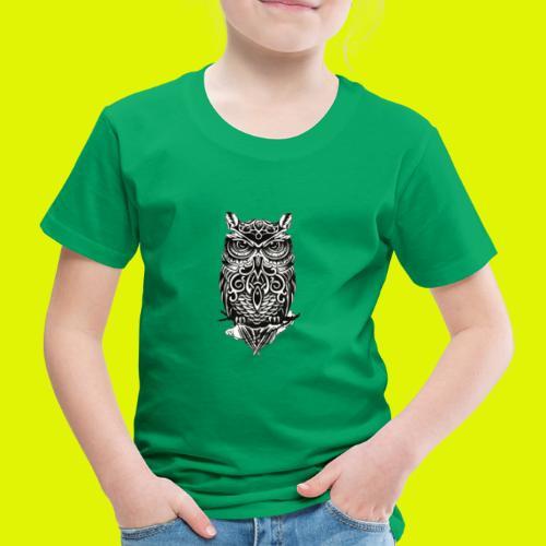 maglietta gufo - Maglietta Premium per bambini