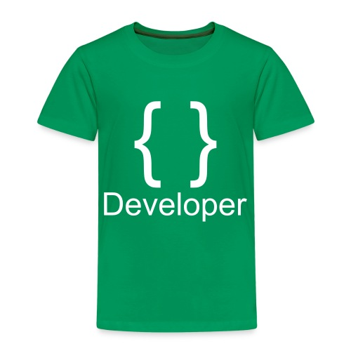 Developer - Kinder Premium T-Shirt