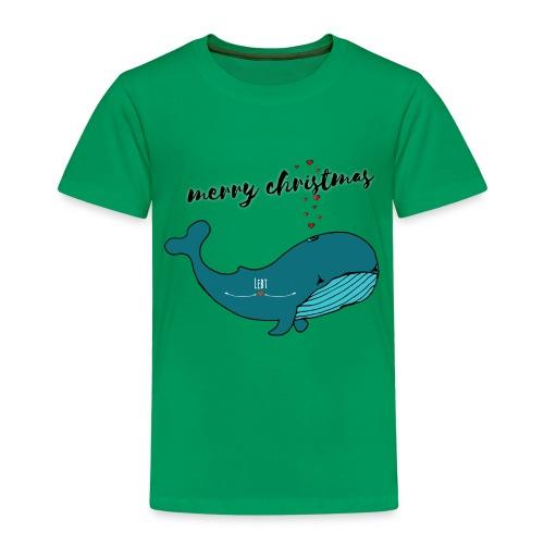 Wal merry christmas - Kinder Premium T-Shirt