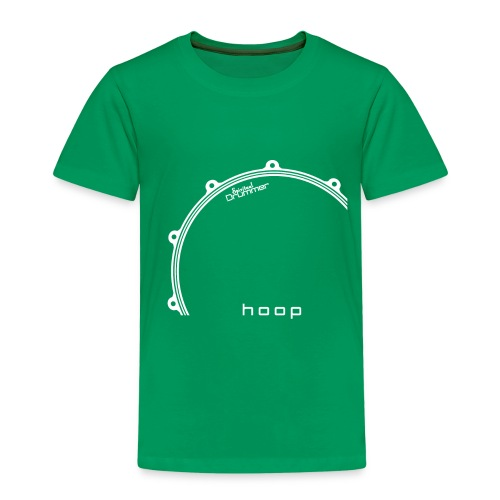 Hoop Design White - T-shirt Premium Enfant