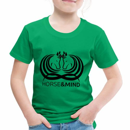 Logo Horse and Mind - Kinder Premium T-Shirt