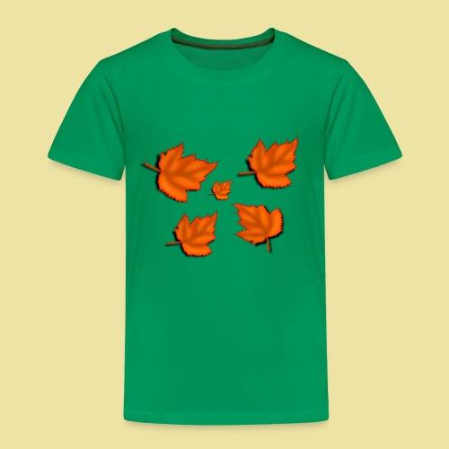 Herbstblätter - Kinder Premium T-Shirt