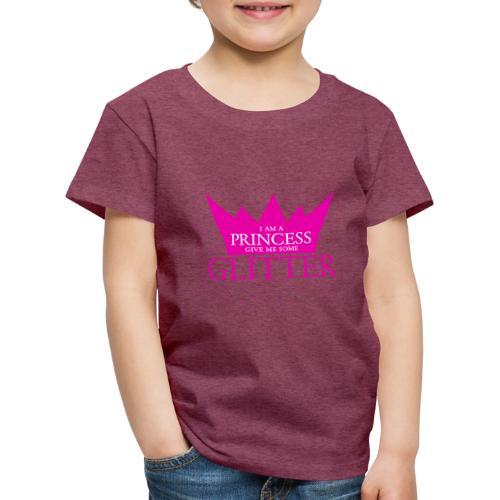 Glitzer für die Prinzessin - Kinder Premium T-Shirt