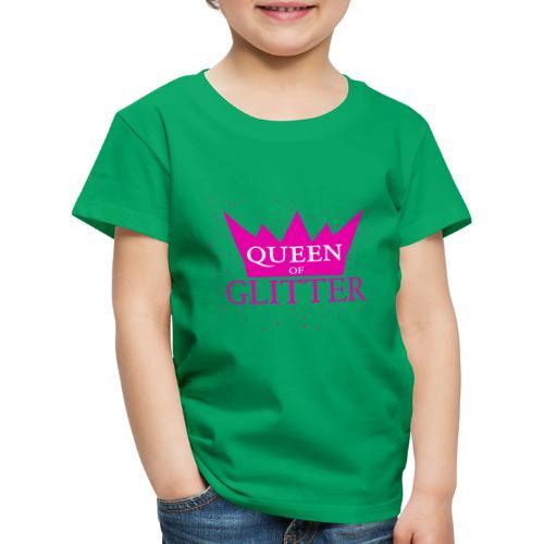 Königin des Glitzer - Kinder Premium T-Shirt