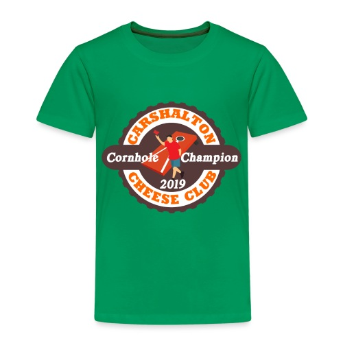 Cheese Club 2019 Cornhole Champion - Kids' Premium T-Shirt