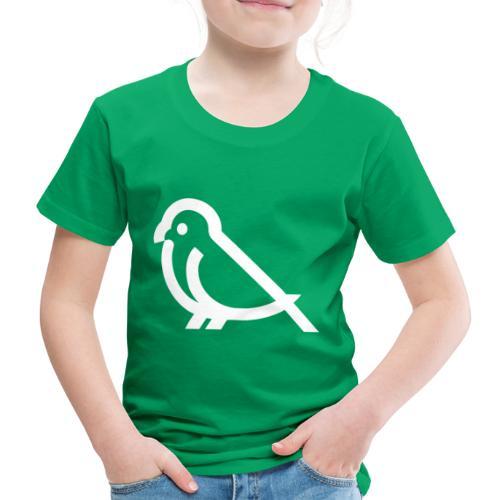 bird weiss - Kinder Premium T-Shirt