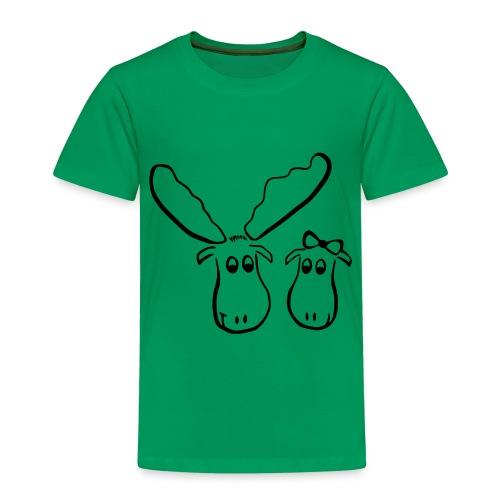 Elchliebe - Kinder Premium T-Shirt