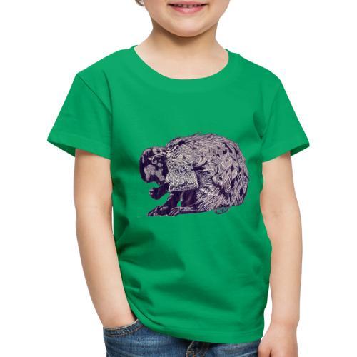 Singe mosaique - T-shirt Premium Enfant
