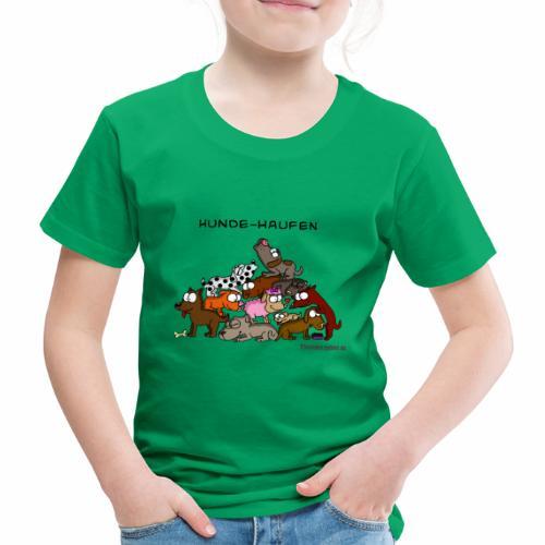 Hundehaufen - Kinder Premium T-Shirt