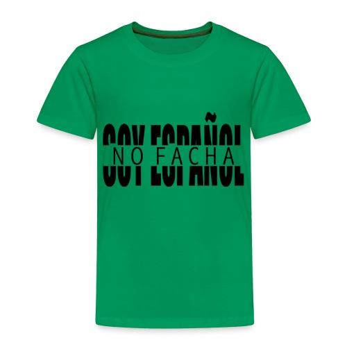 soy español no facha patriots - Camiseta premium niño