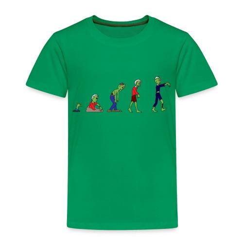 Zombie Evolution - Kids' Premium T-Shirt
