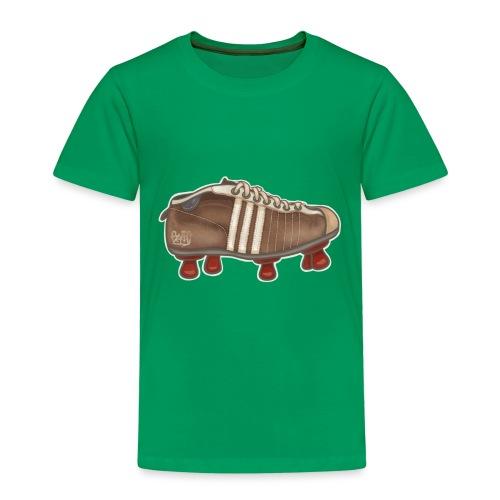 Vintage Fussbalschuhe / Soccer Shoes - Kinder Premium T-Shirt