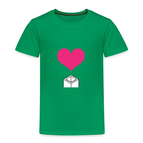 block love - Camiseta premium niño