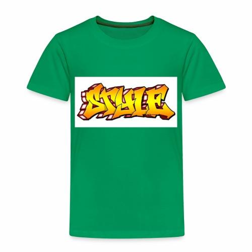 Camiseta estilo - Camiseta premium niño