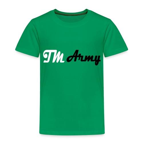 Hoodie - TM army - Børne premium T-shirt