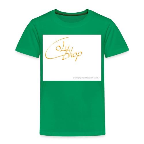 Notes 181003 235856 482 1 - Kinder Premium T-Shirt