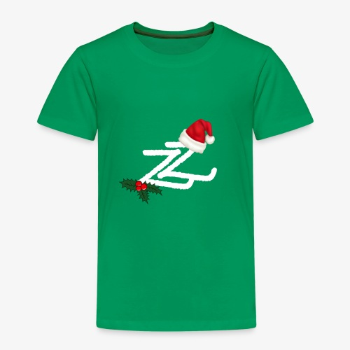 Zip Zap Christmas Merch - Premium T-skjorte for barn