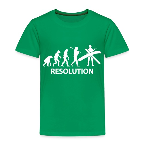 Resolution Evolution Army - Kids' Premium T-Shirt