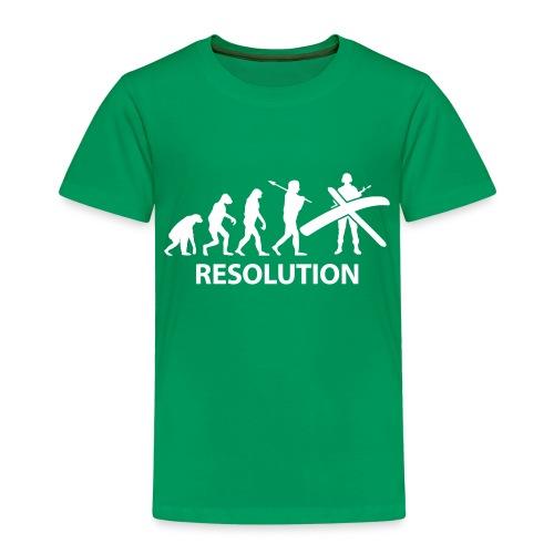 Resolution Evolution Army - Kids' Premium T-Shirt