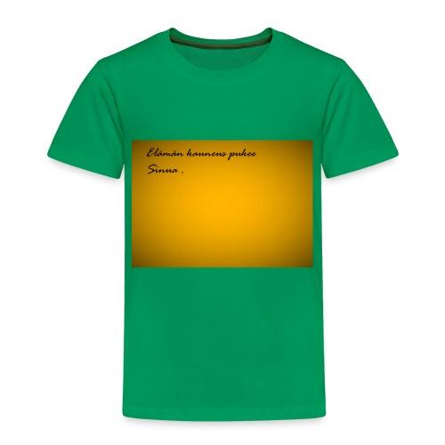 Kirje... - Lasten premium t-paita