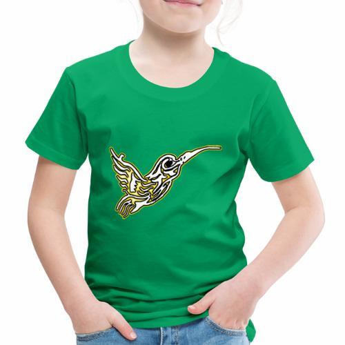 Colibri tête de mort Blanc - T-shirt Premium Enfant