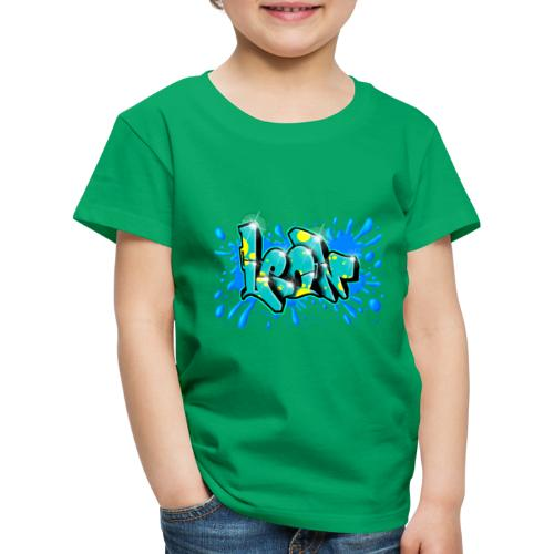 Graffiti Leon Printable - Kids' Premium T-Shirt