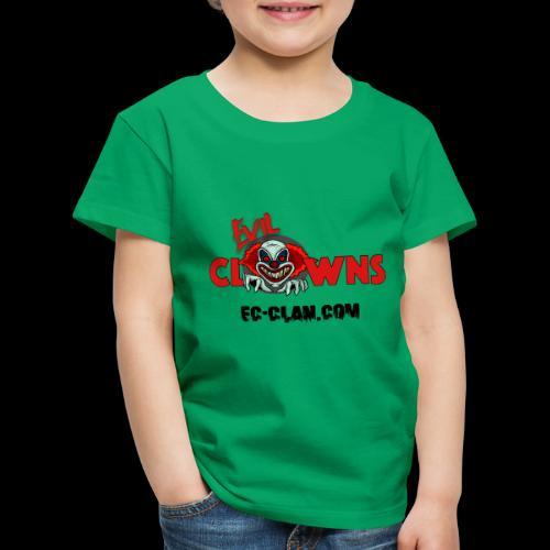 EvilClownsClan black red - Kinder Premium T-Shirt